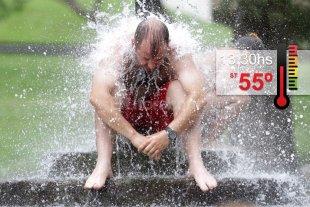 Ola de calor en Santa Fe en las redes sociales