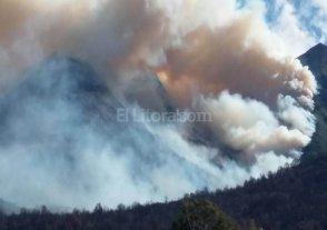 Nuevo foco de incendio en Chubut
