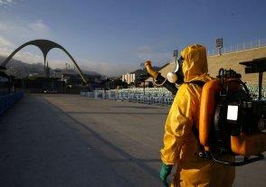 Fumigan el Samb�dromo de Rio de Janeiro para evitar brotes de zika y dengue