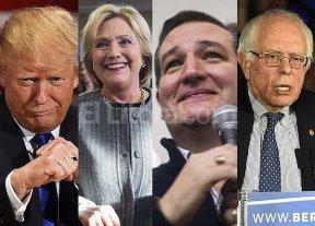 Los EE.UU. eligen a sus candidatos