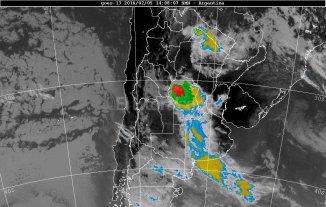 Alerta por tormentas intensas para el sur y centro de Santa Fe