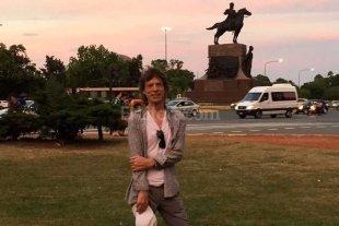 Mick Jagger suelto por Buenos Aires