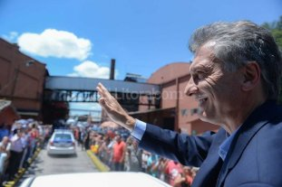 Macri encabeza el acto por el aniversario combate de San Lorenzo