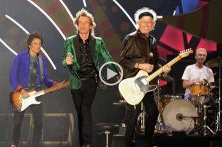 7 im�genes de los Rollings Stones en Argentina