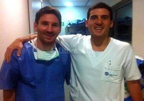 Messi ser� operado por problemas renales