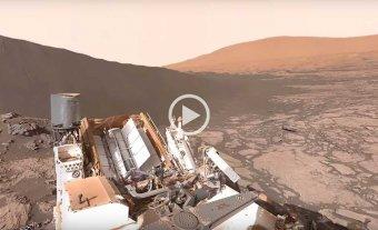 Mir� la superficie de Marte en primera persona