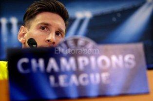 Messi fue operado y ya se encuentra en su casa