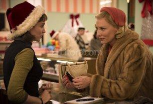 """La reja dorada - Basado en una novela de culto de Patricia Highsmith que desafió la censura de los represivos años cincuenta, con una historia de amor entre dos mujeres, """"Carol"""" es un film exquisito desde lo visual y por la delicadeza del guión y las composiciones actorales."""