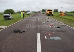 Choque fatal en la Ruta Nacional 11