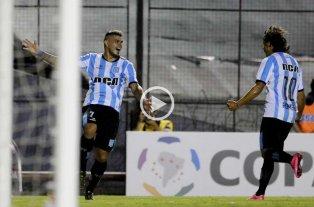 Racing clasific� a la fase de grupos de la Libertadores