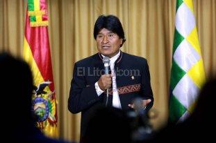 Piden a Transparencia Internacional que investigue a Evo Morales
