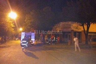 7 lesionados tras un incendio en una rotiser�a