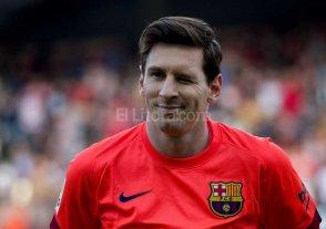Messi se solidariz� con el plantel de Hurac�n