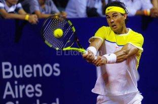 Nadal despach� a M�naco y no quedan argentinos en el ATP Buenos Aires
