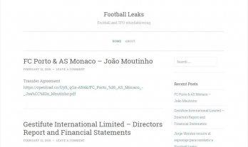 Qu� es Football Leaks, el sitio que declar� la guerra a los representantes