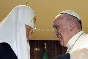 M�s de 1.000 a�os despu�s se reunieron los jerarcas de las iglesias cat�lica y ortodoxa