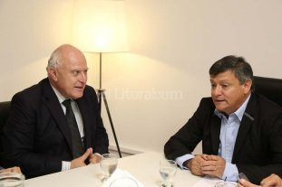 Lifschitz se reuni� con su par chaque�o Domingo Peppo