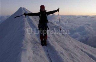 Una brasile�a subi� y baj� el Aconcagua en menos de 24 horas