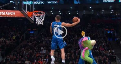 Triples, volcadas y todo el show de la NBA