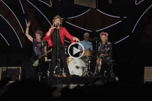 Video: los Rollings Stones se despidieron de Argentina