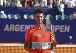 Dominic Thiem campe�n del Argentina Open