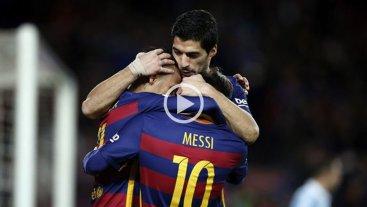 Mir� la genialidad de Messi para el gol de Su�rez en la victoria de Barcelona