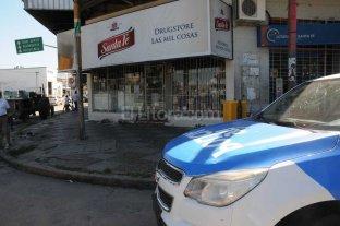 2 detenidos por intentar robar el quiosco frente al club Colón