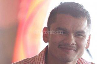 """Una foto de Chino Maidana  """"excedido"""" de peso"""