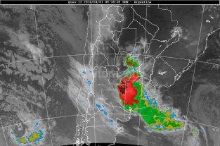 Alerta por tormentas para sur y centro de Santa Fe