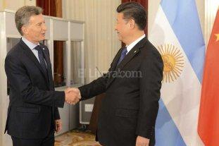 Macri se reunió con el presidente de China