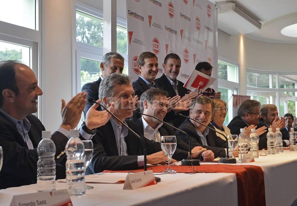Más de 440 líderes municipales que la Unión Cívica Radical tiene en todo el país, con el objetivo de participar de la primera reunión del Foro de Intendentes Radicales.  Crédito: Gentileza Prensa UCR