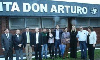 Inauguraron en Las Toscas la planta Don Arturo de la curtiembre Arlei