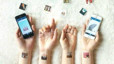Una app permite convertir las fotos de Instagram en tatuajes -