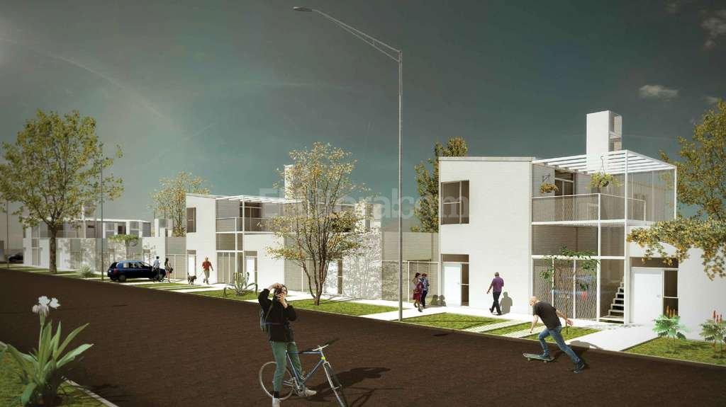 Las viviendas que se construirán en Nueva Esperanza Este serán en planta baja, pero tienen proyección de crecimiento en altura. <strong>Foto:</strong> Gentileza Municipalidad de Santa Fe
