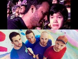 Coldplay saludó al niño autista que se emocionó en su show