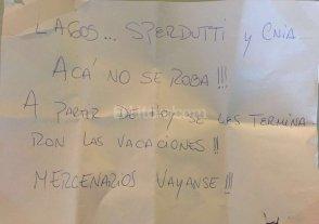 Siguen las amenazas a los jugadores de Colón