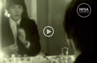 Video: in�ditas im�genes de The Beatles