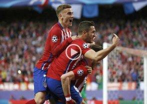 Atl�tico de Madrid venci� al Bayern M�nich en la semifinal de ida