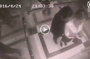 Video: intent� abusar de una mujer y recibi� una paliza