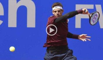 Del Potro en cuartos de final del ATP de M�nich