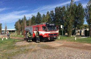 Mir� c�mo entrenan los bomberos de Santa Fe