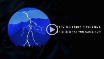 Escuch�  lo �ltimo de Calvin Harris junto a Rihanna