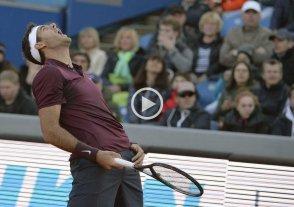 Juan Mart�n Del Potro eliminado del ATP de M�nich