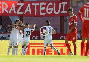 San Lorenzo super� a Independiente y contin�a puntero