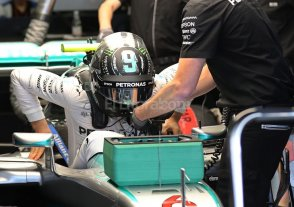 Nico Rosberg largar� en la vanguardia