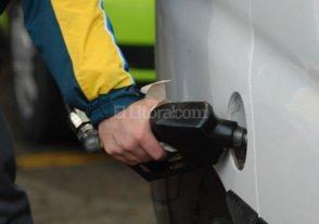 Amento de combustibles entre 8 y 10 %