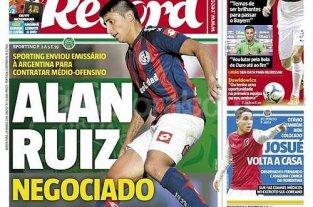 San Lorenzo intim� a Col�n por la venta de Alan Ruiz