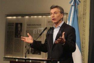 """Macri destac� el rol de las universidades y neg� que haya """"ola de despidos"""""""