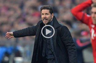 Simeone llev� a Atl�tico de Madrid a una nueva final de la Liga de Campeones