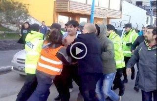 Esc�ndalo en Tierra del Fuego: golpearon al vicegobernador